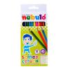 Nebulo Színes ceruza készlet, hatszögletű,  NEBULÓ, 12 különböző szín