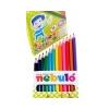 Nebulo Színes ceruza készlet, NEBULÓ, 12 szín