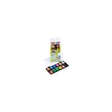 Nebulo Vízfesték, 12 darabos, 28 mm, NEBULÓ ecset, festék