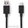 Nedis CCGP61600BK10 Type C Átalakító kábel