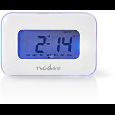 Nedis CLAL110WT digitális ébresztőóra - fehér ébresztőóra