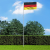 Német zászló alumíniumrúddal 6 m