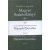 Németh Zsuzsána MAGYAR SZAKÁCSKÖNYV