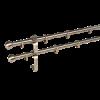 NEMMEGADOTT rúdkarnis fém dupla óarany D=16 mm 160 cm (tartozékokkal)