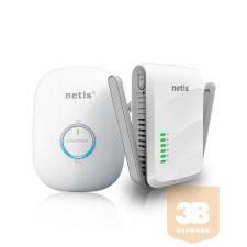 NETIS HomePlug Kit A/V 300Mbps (2 pieces) PL7622KIT egyéb hálózati eszköz