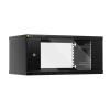 """Netrack 4U 19"""" fali rack szekrény 600x400mm grafit (019-045-400-012)"""