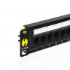 "Netrack Patchpanel 10"", 12 - ports cat. 6 UTP LSA, without bracket"