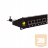 Netrack patchpanel 19'' 24 ports cat. 6A FTP, Krone IDC
