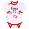 NEW BABY | Áruk | Body nyomtatott mintával New Baby ajkak | Fehér | 86 (12-18 m)