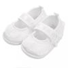 NEW BABY Baba kislányos cipő New Baby szatén fehér 3-6 h
