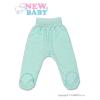 NEW BABY Baba lábfejes nadrág New Baby türkiz | Türkiz | 68 (4-6 h)