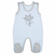 NEW BABY Baba rugdalózó New Baby Owl kék