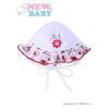 NEW BABY Baba sapka New Baby Katica | Fehér | 56 (0-3 h)
