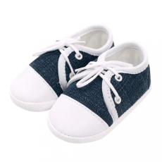 NEW BABY Baba tornacipő New Baby Jeans kék 12-18 h