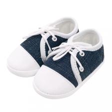 NEW BABY Baba tornacipő New Baby Jeans kék 6-12 h gyerek cipő
