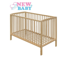 NEW BABY Bükkfa kiságy New Baby Adrian- természetes | Természetes | kiságy, babaágy