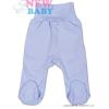 NEW BABY Csecsemő lábfejes nadrág New Baby Classic | Kék | 62 (3-6 h)