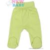 NEW BABY Csecsemő lábfejes nadrág New Baby Classic | Zöld | 50
