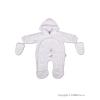 NEW BABY Gyerek kezeslábas New Baby süni fehér | Fehér | 74 (6-9 h)