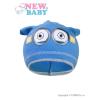 NEW BABY Gyerek őszi sapka New Baby mimon világos kék | Világos kék | 110 (4-5 éves)