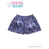 NEW BABY Gyermek rövidnadrág New Baby Zebra kék | Kék | 104 (3-4 éves)