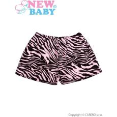 NEW BABY Gyermek rövidnadrág New Baby Zebra rózsaszín