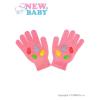NEW BABY Gyermek téli kesztyű New Baby Girl málna | Málna | 122 (6-7 éves)