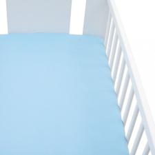 NEW BABY Jersey ágyneműhuzat New Baby 120x60 kék lakástextília