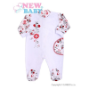 NEW BABY Kezeslábas New Baby Katica   Fehér   56 (0-3 h)