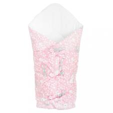 NEW BABY Klasszikus megkötős pólya New Baby Nyuszi rózsaszín pólya