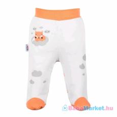 NEW BABY Lábfejes baba nadrág - New Baby Róka lazacszín 86 (12-18 h)