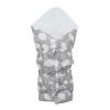 NEW BABY | New Baby Felhőcske | Klasszikus megkötős pólya New Baby Felhőcske szürke | Szürke |