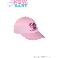 NEW BABY Nyári gyermek baseball sapka New Baby Sweet Pets világos rózsaszín