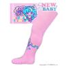 NEW BABY Pamut harisnyanadrág New Baby ABS-el világos rózsaszín flower princess | Világos rózsaszín | 104 (3-4 éves)