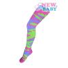 NEW BABY Pamut harisnyanadrág New Baby terepmintás zöld -  rózsaszín | Rózsaszín | 104 (3-4 éves)