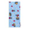 NEW BABY Pamut pelenka nyomtatott mintával New Baby kék sünivel | Kék |