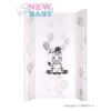 NEW BABY Pelenkázó keret New Baby Zebra fehér 50x80cm | Fehér |