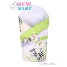 NEW BABY Pólya kókusz betéttel és masnival New Baby zöld szafari | Zöld | pólya