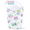 NEW BABY Pólya New Baby fehér baglyoval | Fehér |