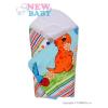 NEW BABY Pólyakendő New Baby kék dínós | Kék |