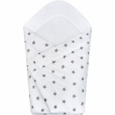 NEW BABY Pólyakendő New Baby szürke csillag pólya