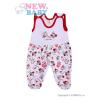 NEW BABY Rugdalózó New Baby Katica | Fehér | 56 (0-3 h)