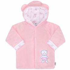 NEW BABY Téli baba kabátka New Baby Nice Bear rózsaszín