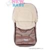 NEW BABY Téli lábzsák New Baby Classic Wool barna | Barna |