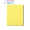 NEW BABY Vízálló lepedő New Baby 120x60 sárga   Sárga  
