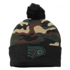 New Era Philadelphia Flyers TĂŠli sapka New Era Camo Top 2 Woodland Knit Beanie