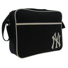 New York Yankees fekete oldaltáska válltáska 35x27x9 cm RAKTÁR