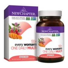 NewChapter Every Woman's One Daily Multi 55+ Tablets - Multivitamin nőknek 72 db vitamin