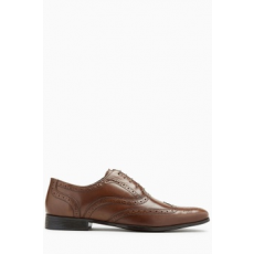 Next , Oxford brogue bőrcipő, Fahéjbarna, 6.5 (178002-BROWN-6.5 EU 40)