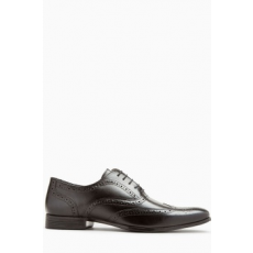 Next , Oxford brogue bőrcipő, Fekete, 10 (168147-BLACK-10 EU 44)